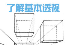 漫画基础——了解基本的透视-Manga漫研网