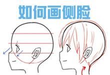 如何画漫画人物侧脸·初学绘制篇-Manga漫研网